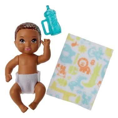 Barbie Barbie Bebek Bakıcısı Serisi Minik Bebekler Renkli